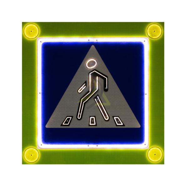 """Знак светодиодный 5.19.1-5.19.2 """"Пешеходный переход"""""""